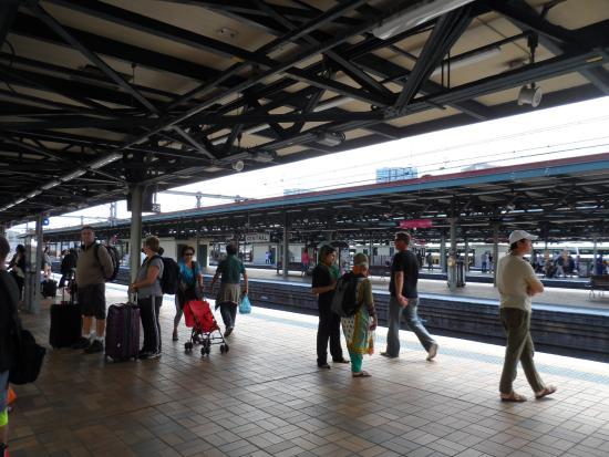 Central Railway Station: platform