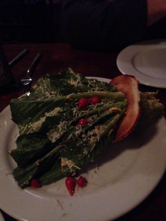 Camas, WA: Chicken chili, Caesar salad and Carmelites scallops!