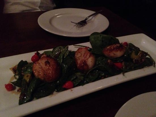 Camas, Etat de Washington : Chicken chili, Caesar salad and Carmelites scallops!