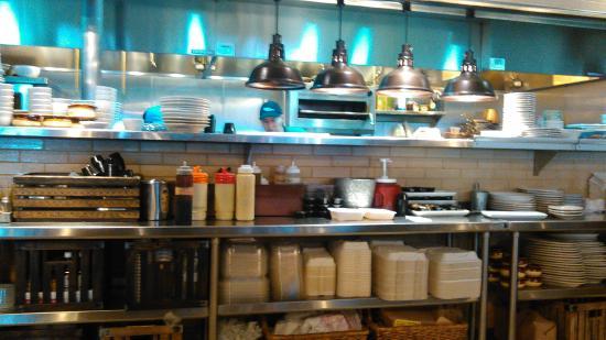 Crystal, MN: The Food Prep area.