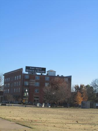Fort Smith Museum of History : View from National Historical Site