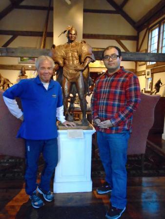 Grafton, VT: Met Jud Hartman himself
