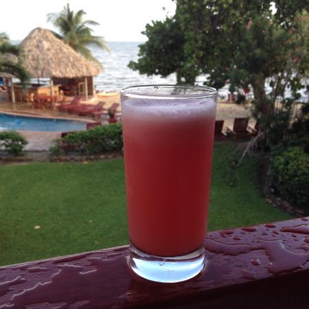 Belizean Dreams Resort: Watermelon Juice