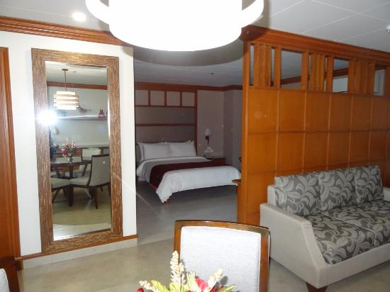 Hotel Roma: Picture of the suite on the 5th floor
