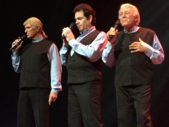 Andy Williams Performing Arts Center Theatre The Lettermen On Stage At Moon