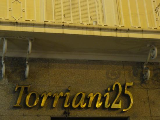 RISTORANTE TORRIANI 25: TORRIANI 25