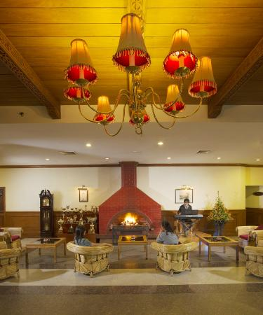 Gem Park-Ooty: LOBBY FIRE PLACE