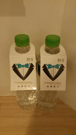 Complimentary Water Bottles Picture Of The Icon Hotel