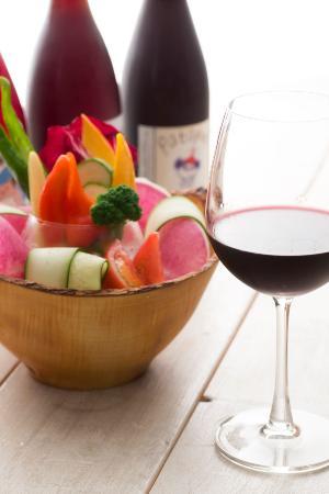 AIN SOPH. soar: ビーガンバーニャカウダ&オーガニックワイン