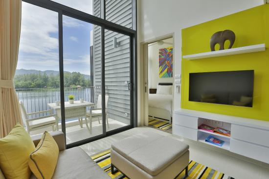 One Bedroom Loft with Water View Picture of Cassia Phuket Bang