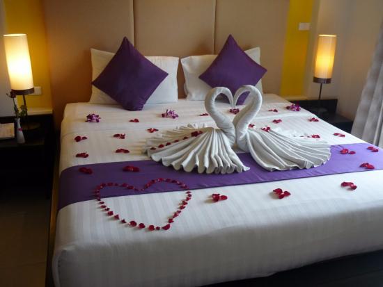 Baramee Resortel: кровать удобная. постельное и полотенца меняют каждый день