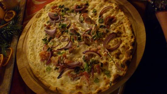 Bebra, Germany: Flammkuchen