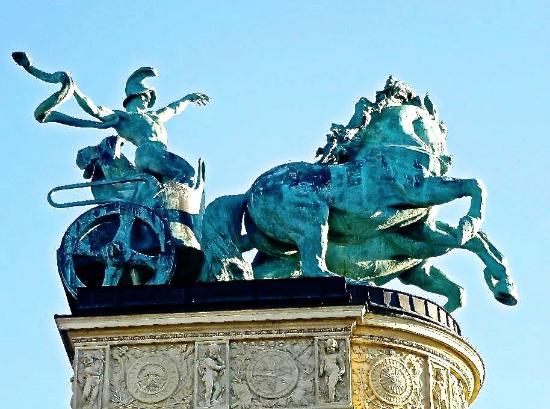 Budapest Plage: Symbol of War