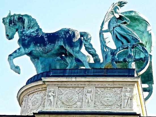 Budapest Plage: Symbol of Peace