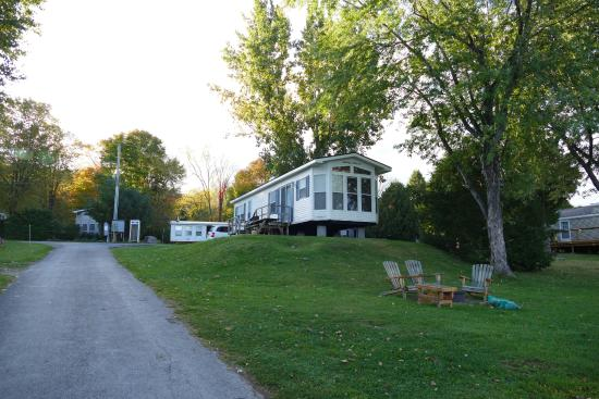 Barry's Bay, Kanada: Our Cottage, view from the lake