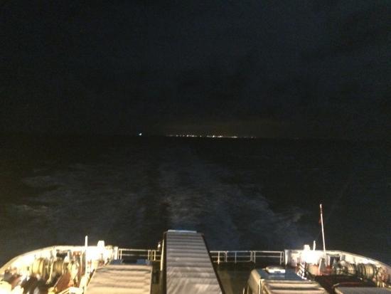 Norfolkline Dunkerque: Op zee
