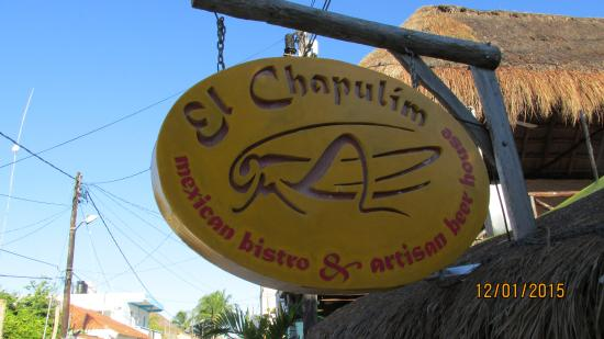 restaurant bar El Chapulim
