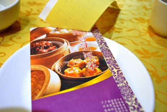 menu booklet picture of panxi restaurant guangzhou tripadvisor