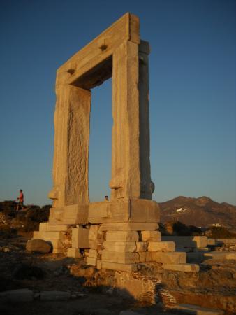Naxos Town, Greece: Portara citta' di Naxos Grecia