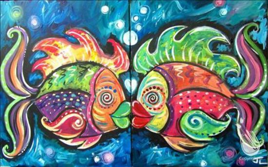 Contemporary Painting With A Twist For Your Home - Model Of painting with a twist paintings Idea