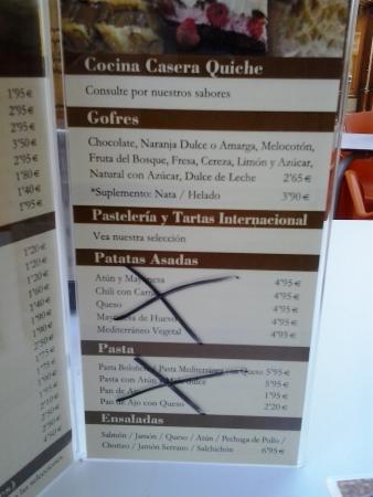 Chocolat: Carta