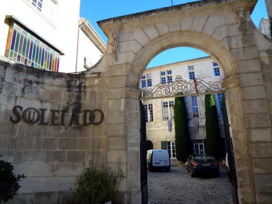 Musee Souleiado: 入り口