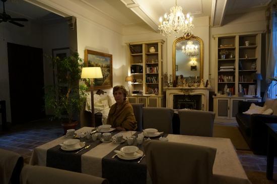Hotel De Vigniamont: Salon salle à manger