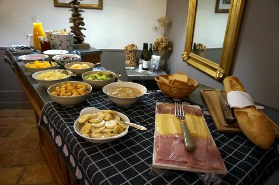Hotel De Vigniamont: Petit déjeuner