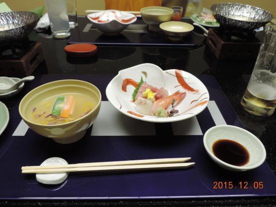 Juhachiro: お刺身とお吸い物