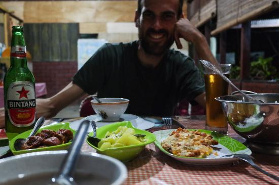 Tangkoko Nature Reserve, Indonesien: The dinner