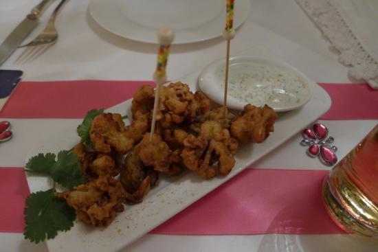Indisches Restaurant: Gruß aus der Küche