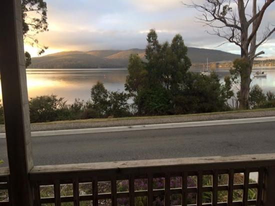 Driftwood Cottages: View from Huon cottage