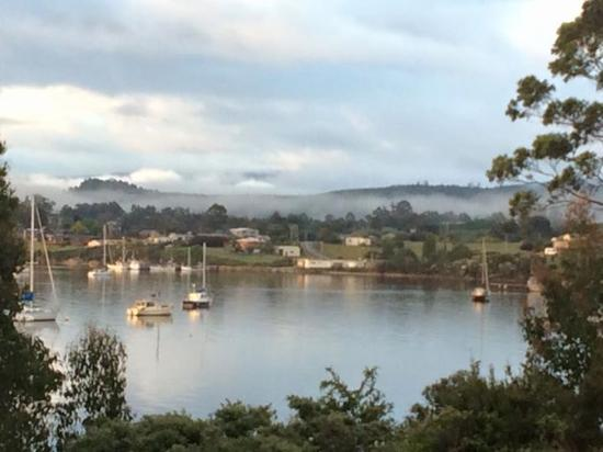 Dover, Australia: View from Huon cottage
