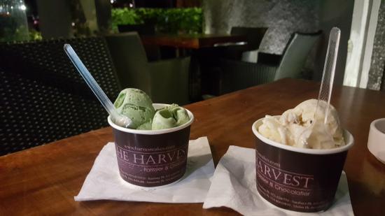 green tea ice cream picture of the harvest cakes pondok indah