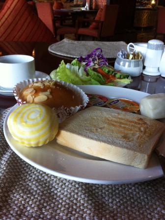 Ningbo World Hotel: とある日の朝食。