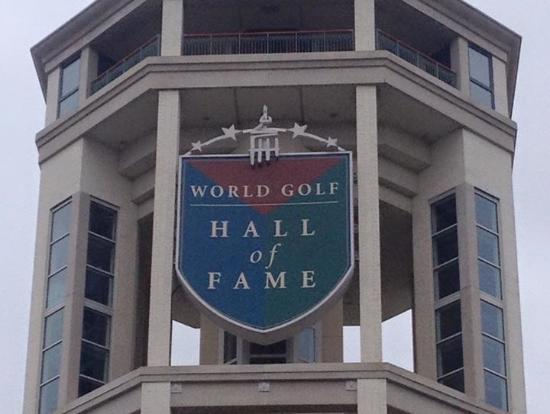 Hall of fame logo. - Picture of World Golf Hall of Fame ...