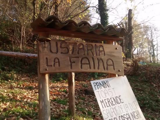 Ameno, Itália: Cartello di Benvenuto