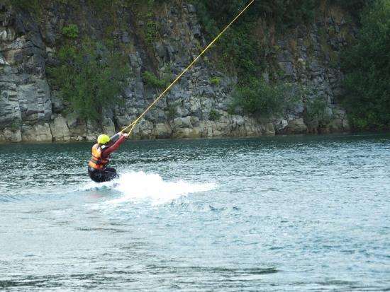 Ballyhass Lakes Activity Centre, Fishing & Wakepark : Ballyhass wakeboarding