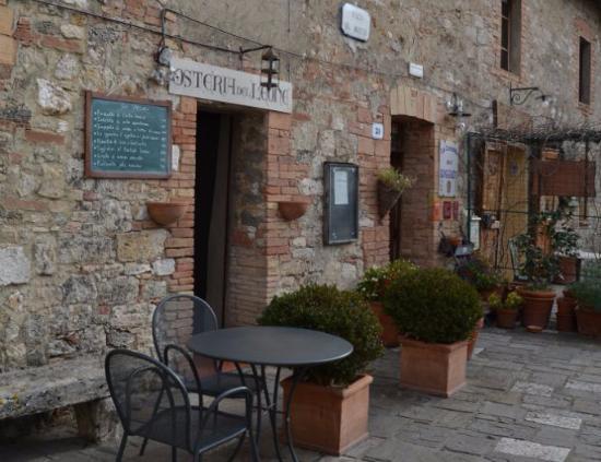 Interno picture of osteria del leone bagno vignoni tripadvisor - Osteria del leone bagno vignoni ...