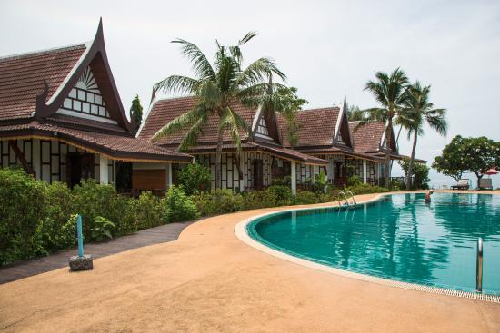 Thai Ayodhya Villas & Spa: Самые близкие домики к морю
