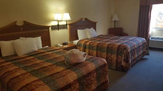 Country Inn & Suites By Carlson, Williamsburg East (Busch Gardens): 12-5-15 stay.  Sleeps 7 with a cot.