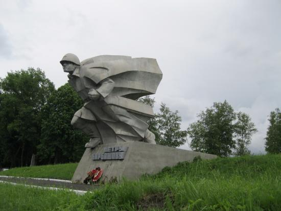 Petr Barbashov Statue