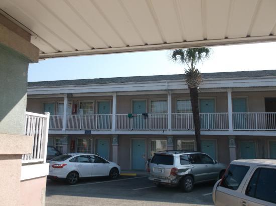 Lancer Motel From Room 109