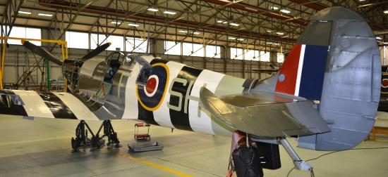 Coningsby, UK: Battle of Britain Memorial Flight