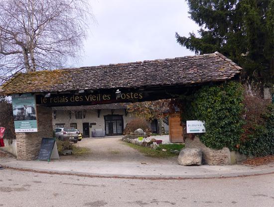 Les Avenieres, Fransa: Entrée du Relais des Vieilles Postes