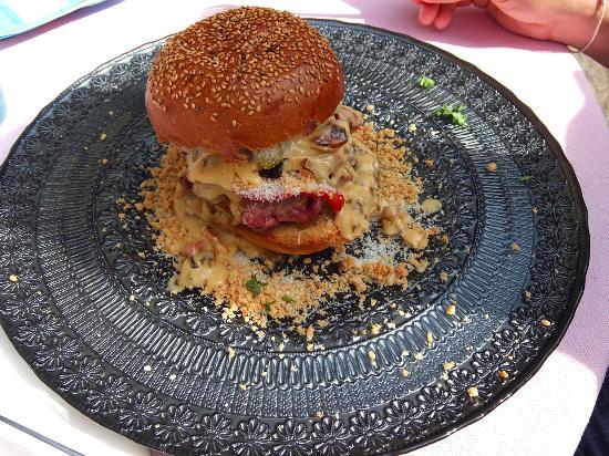 Ile-aux-Moines, ฝรั่งเศส: Hamburger 1