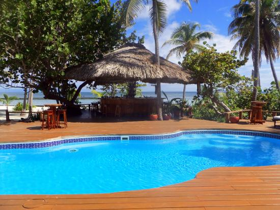 Turneffe Island Resort: Pool & Bar