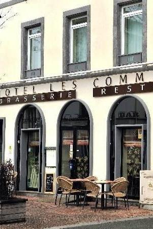 Hotel Restaurant Les Commercants : Фасад отеля