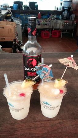 Las Croabas, Puerto Rico: Drinks are expensive