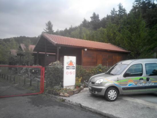 Esparza de Salazar, สเปน: Entrada del Camping